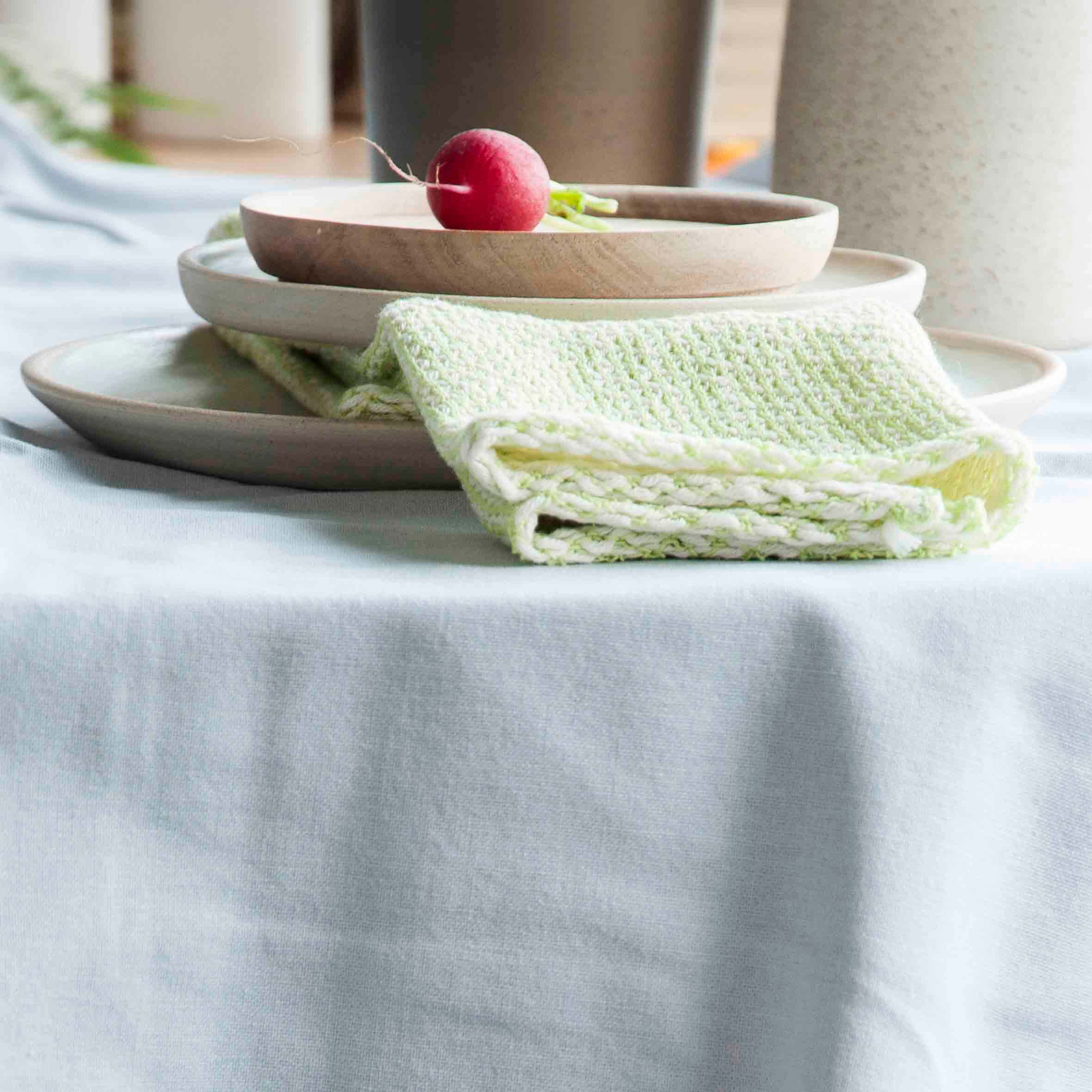 High quality knitted cotton towel