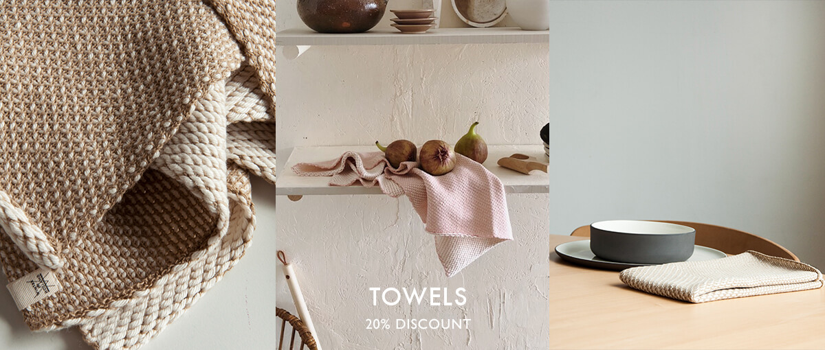 Towels with discount, high quality. Theedoek