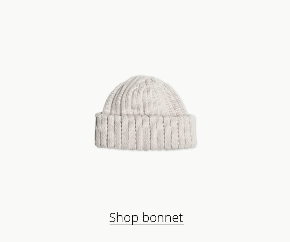 Shop our woolen bonnet